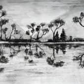 """""""Тёмные воды"""", художник Kerry Moore"""