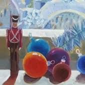 Картина ЗИМНИЙ ВЕЧЕР, картина пейзаж. (2), художник Таслима Лаптева