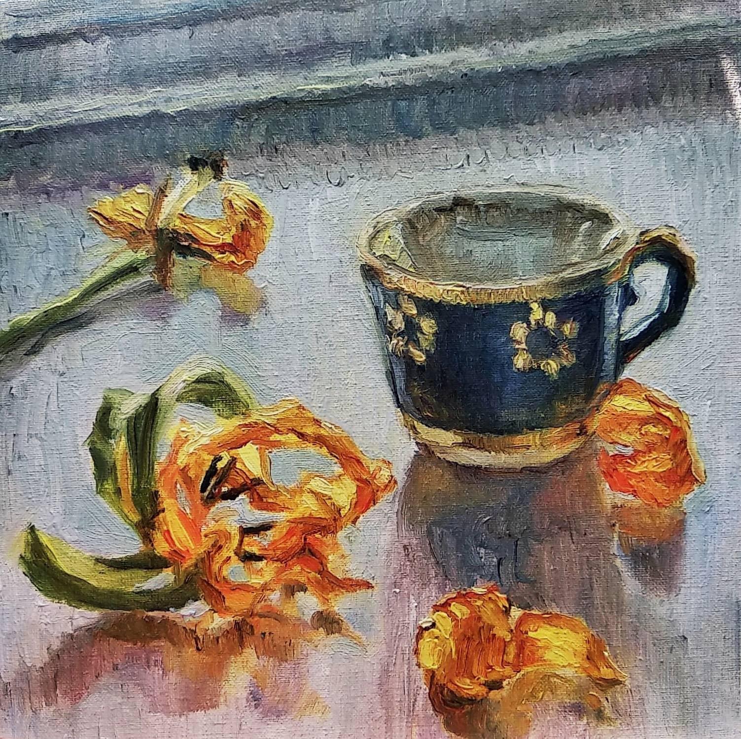 Увядшие тюльпаны