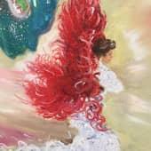 Ангел страсти (3), художник Телешко Елена