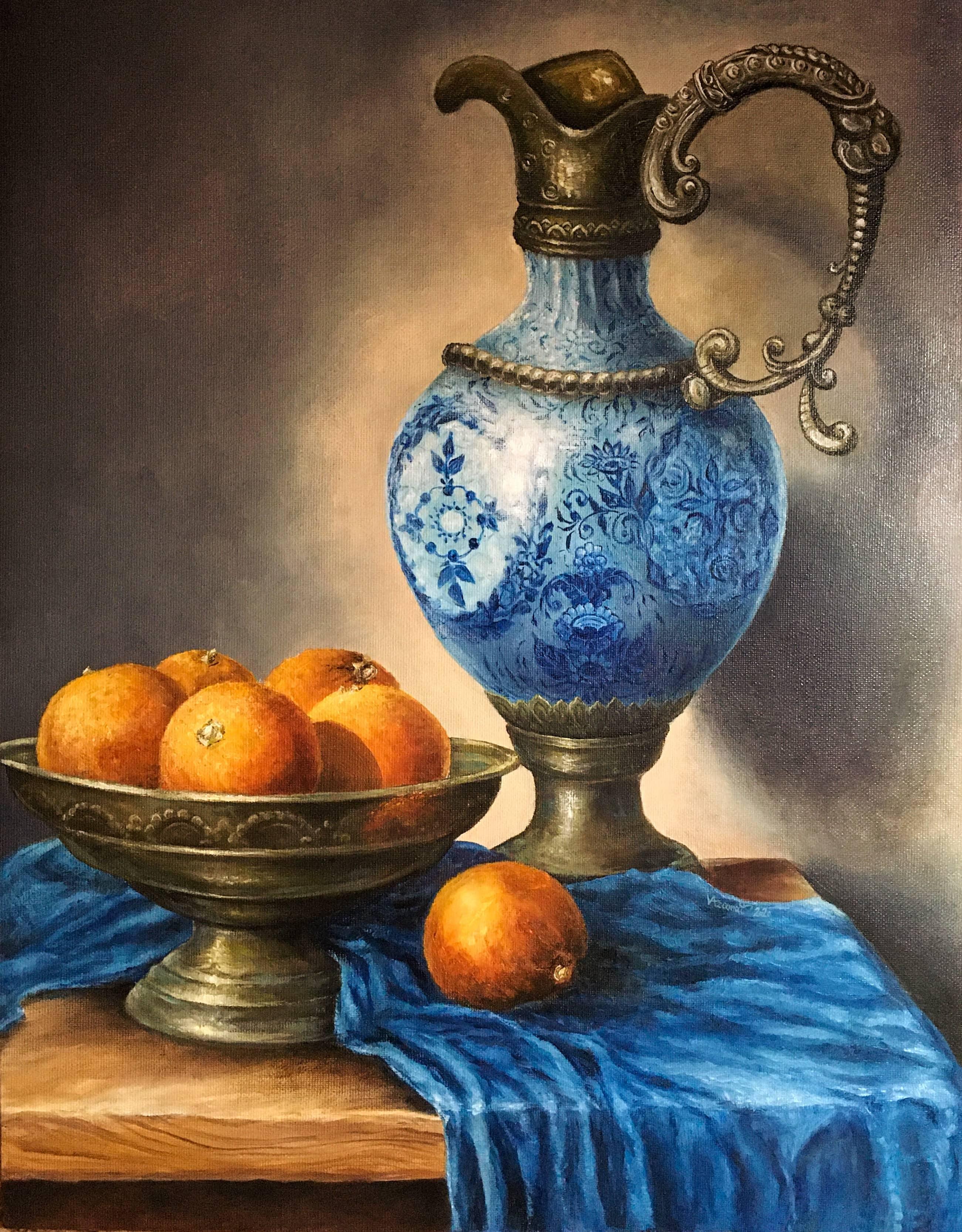 «Натюрморт с апельсинами»