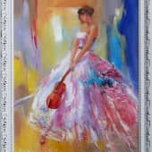 Скрипка (1), художник Светлана Храмцова