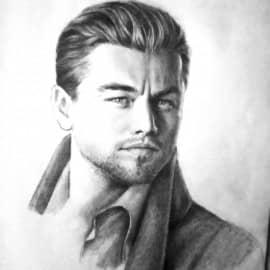 Портрет Леонардо Ди Каприо