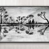 """""""Тёмные воды"""" (1), художник Kerry Moore"""