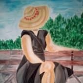На юге (2), художник Ирина