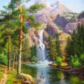 Природа, сюжет 3 (1), художник Мария