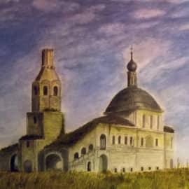 Заброшенный храм в Боровенске