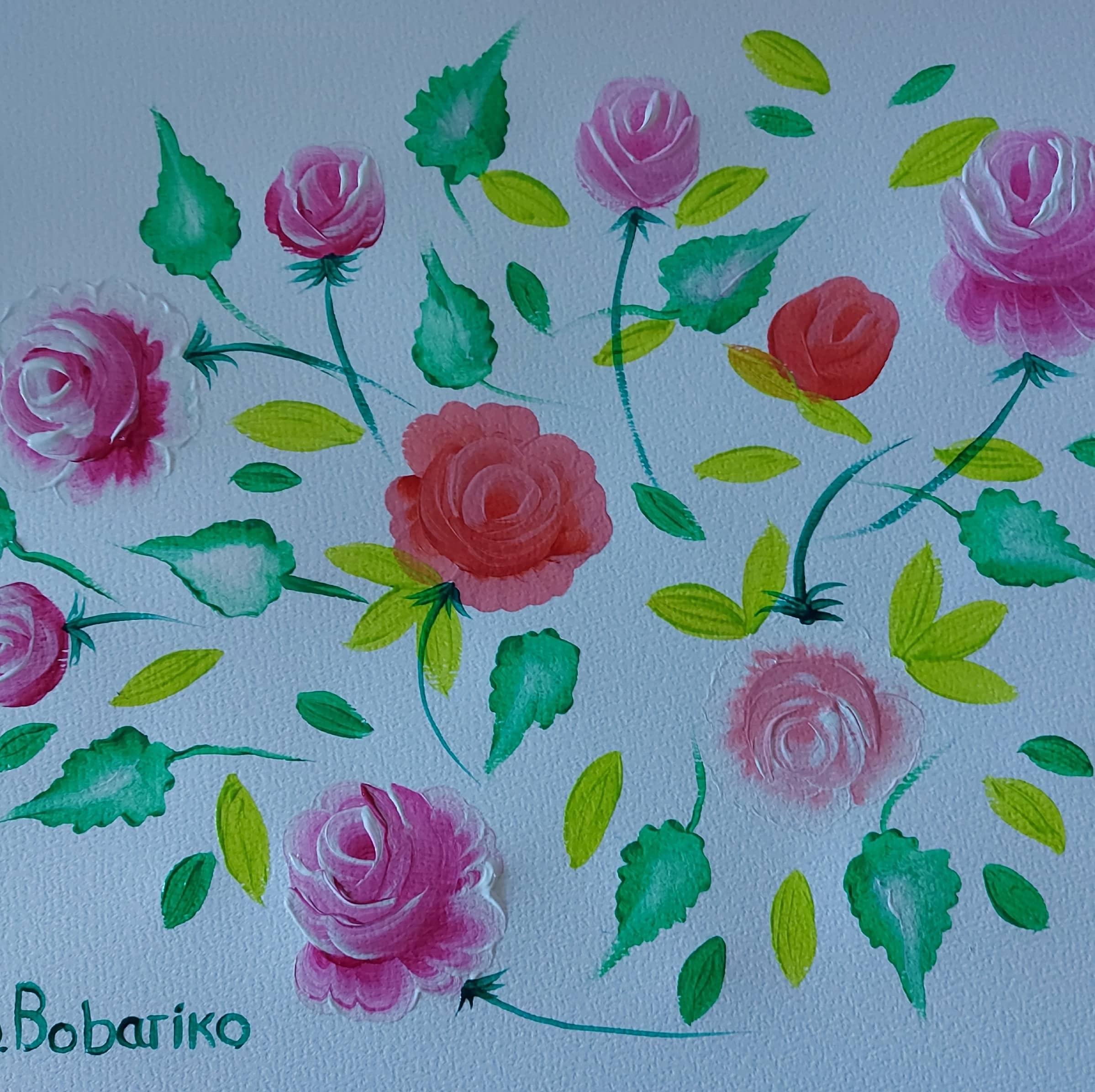 Импровизация на тему цветы