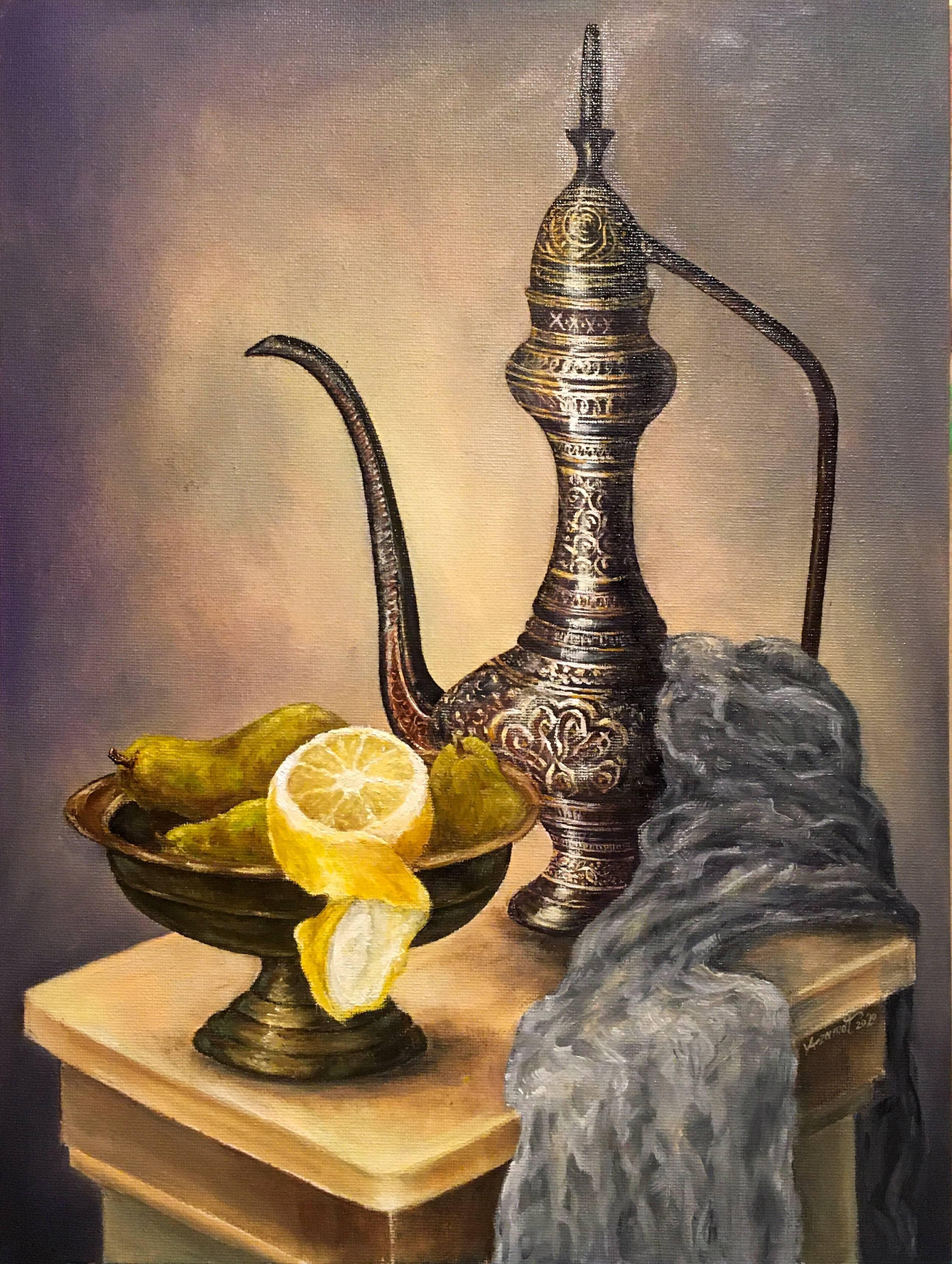 «Натюрморт с лимоном»