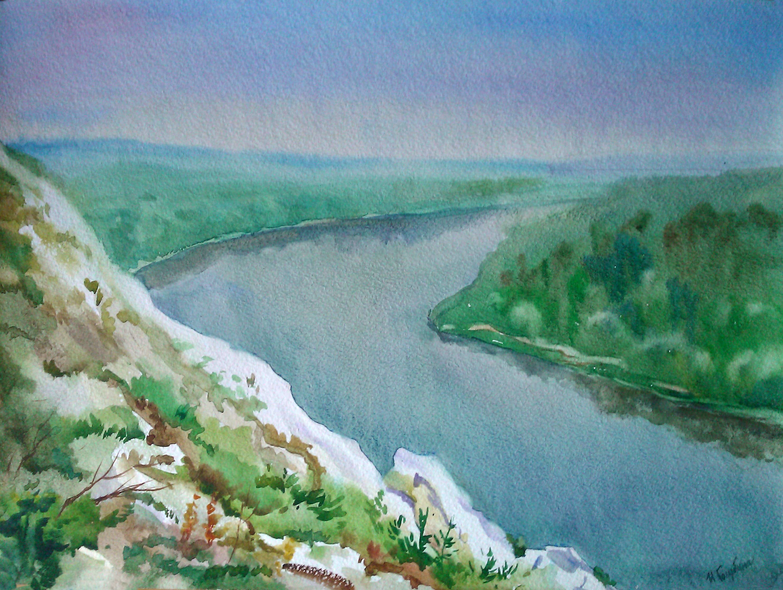 Белогорье. Река Дон.