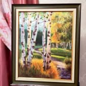 Осенний день (1), художник Светлана Храмцова