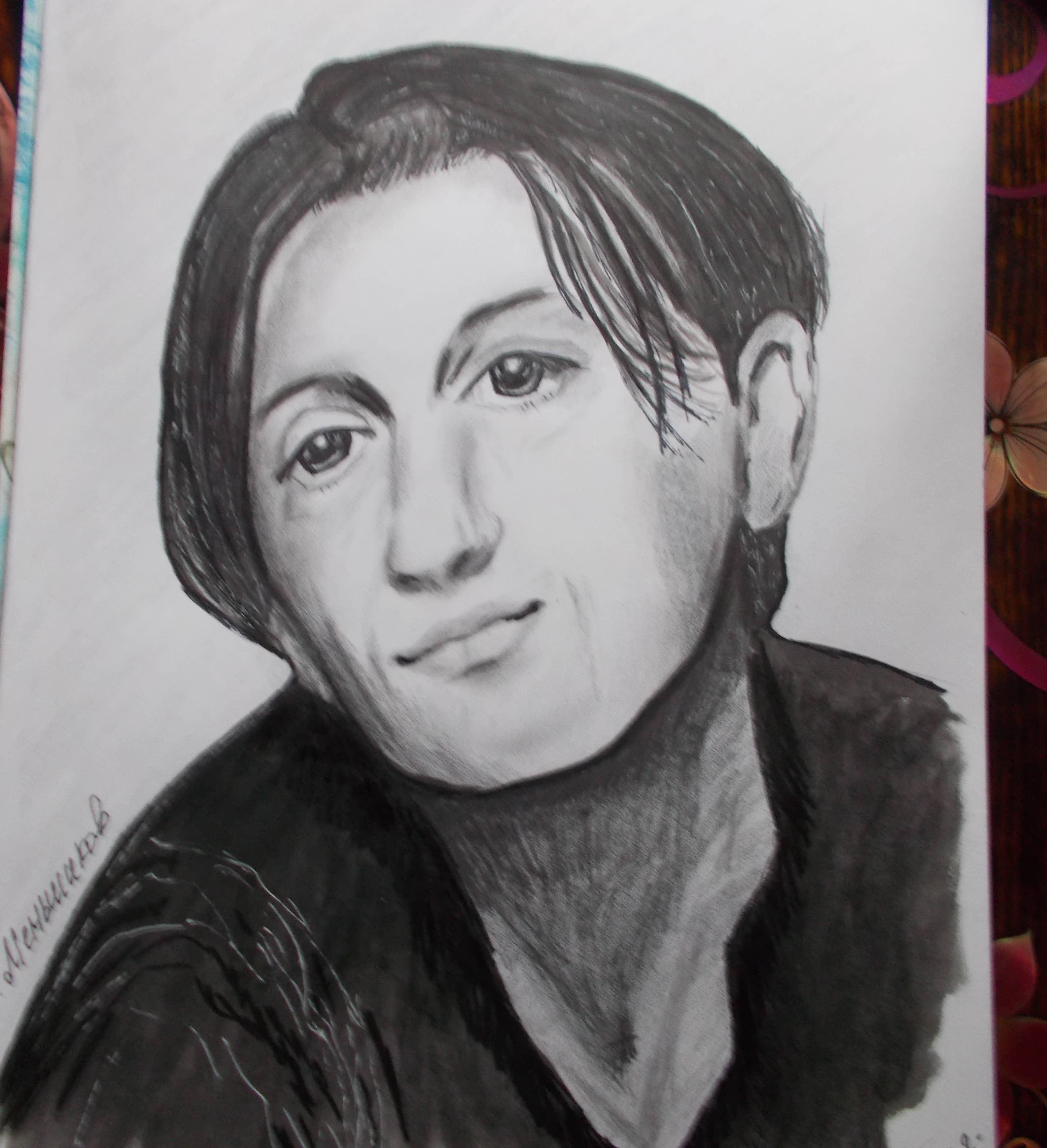 Портрет О.Меньшикова.