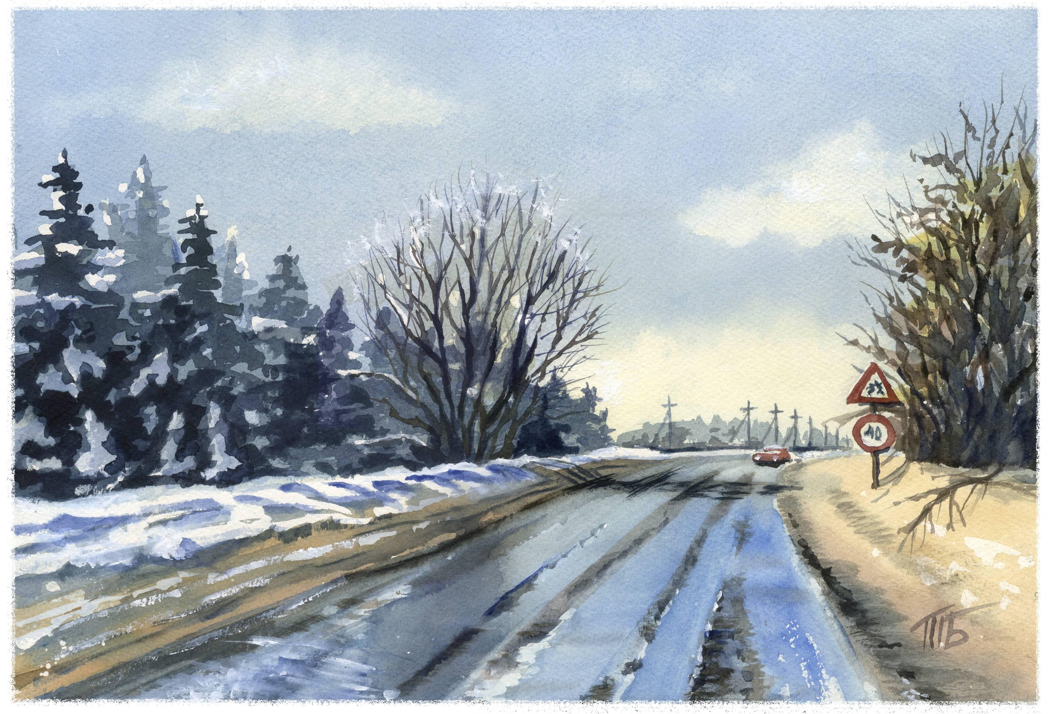 Дорога на Кумысную поляну