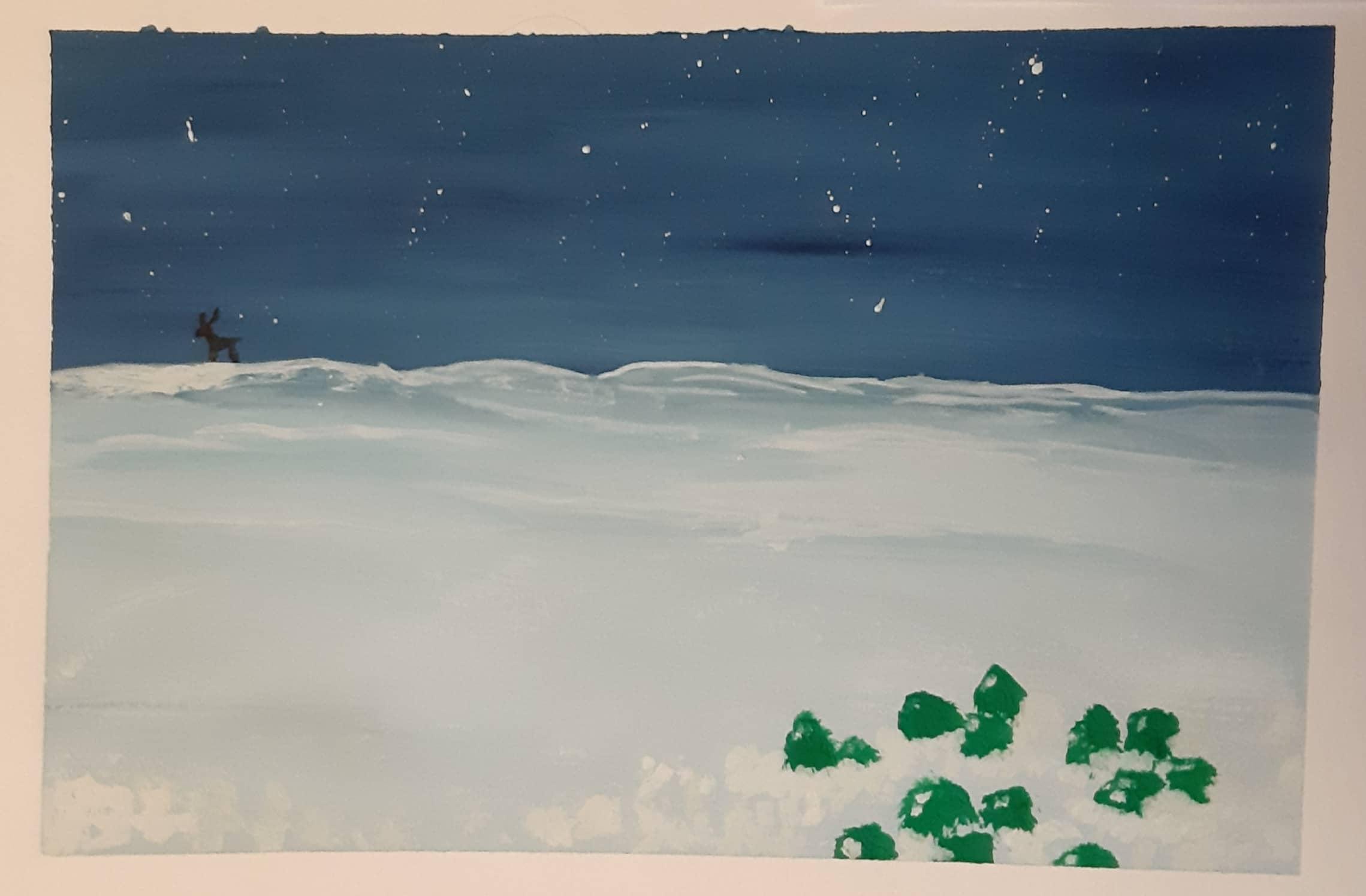 Хризолиты на снегу (по мотивам сказки)