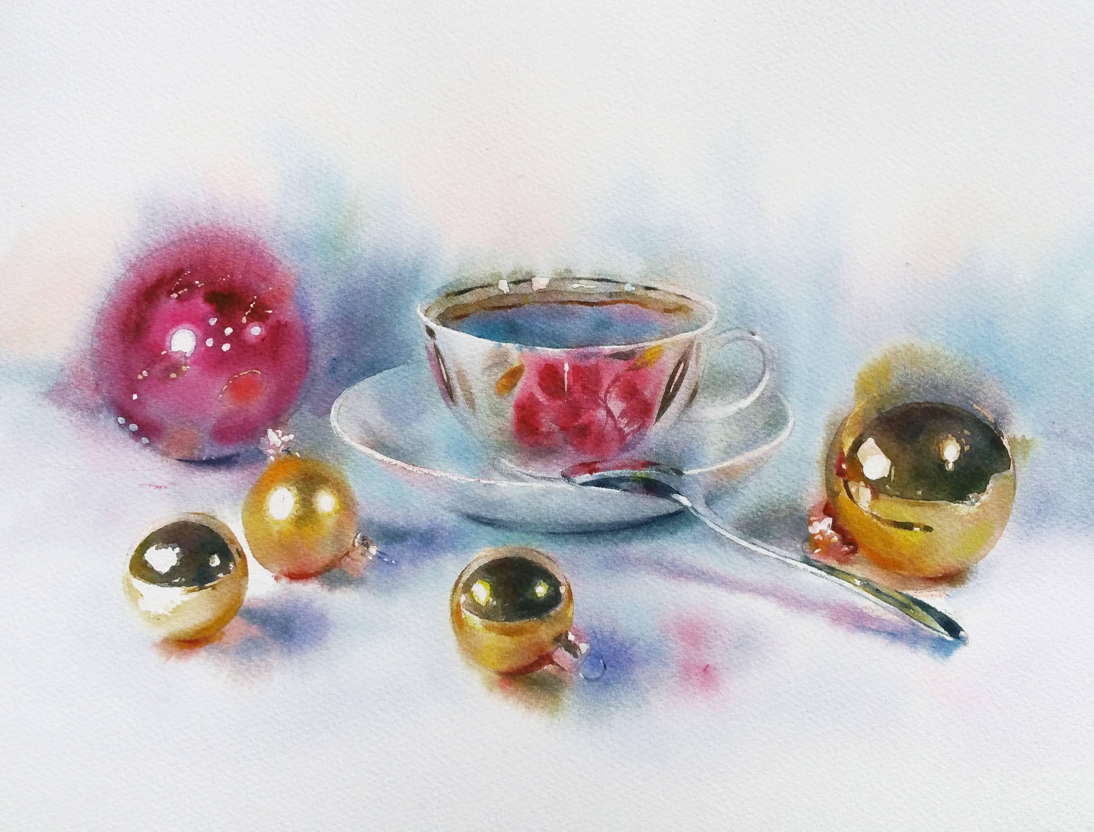 Новогодние игрушки; истории шаров_4