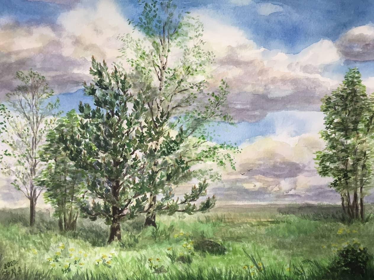 Весна — природы пробужденье
