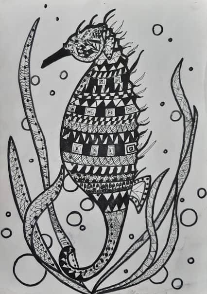 Морской обитатель