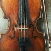 «Сыграй мне, скрипка, нежно о любви...» (3), художник Валерия Азамат