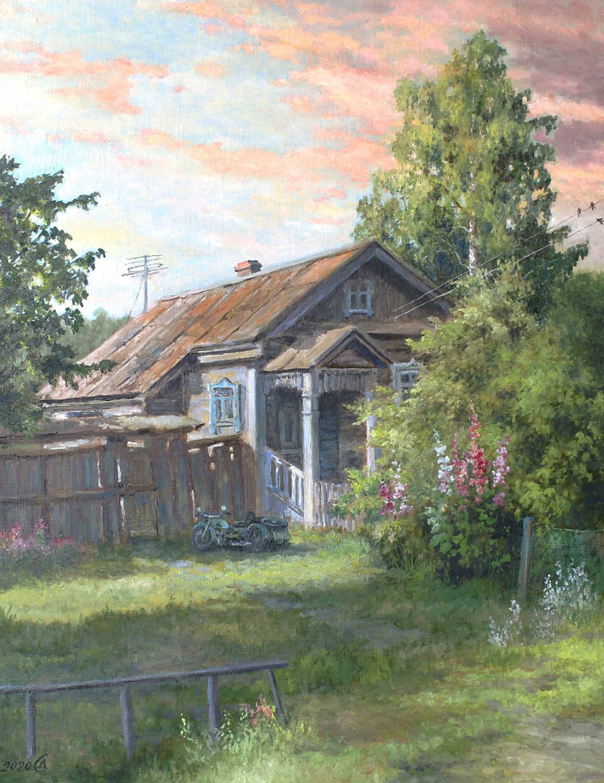 Утро в Гороховце