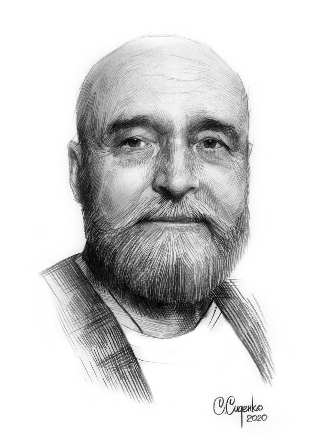Портрет художника В. И. Звягина