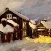 Норвежский этюд (1), художник И.Б.
