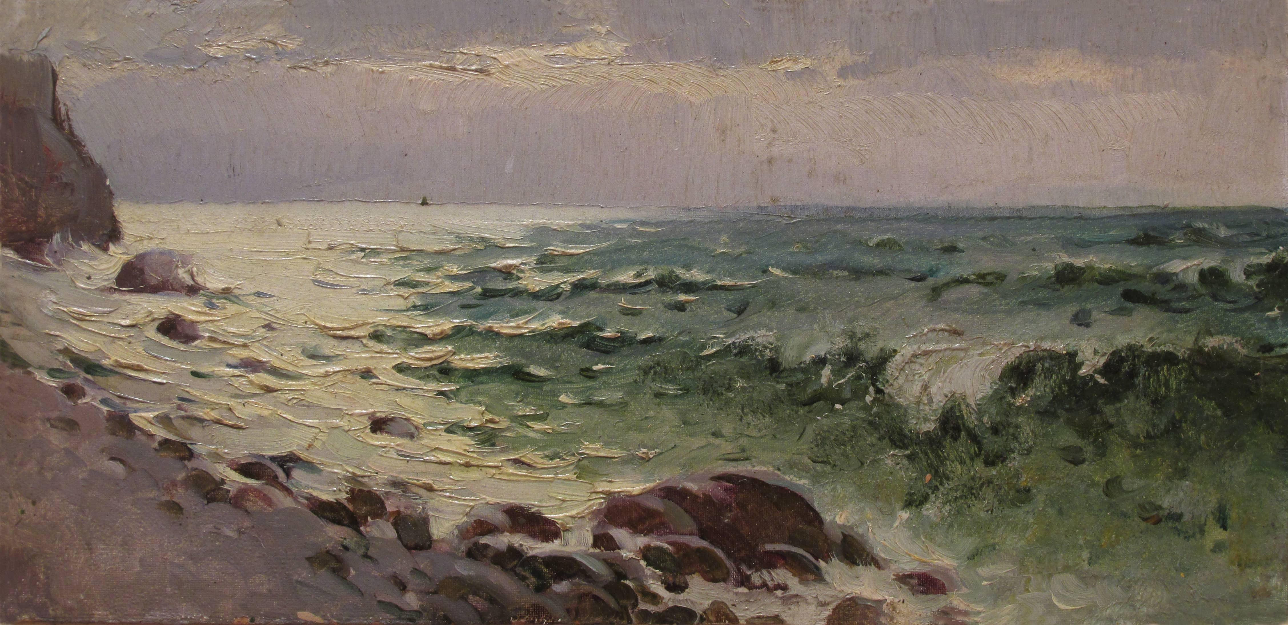 Утро на морском берегу