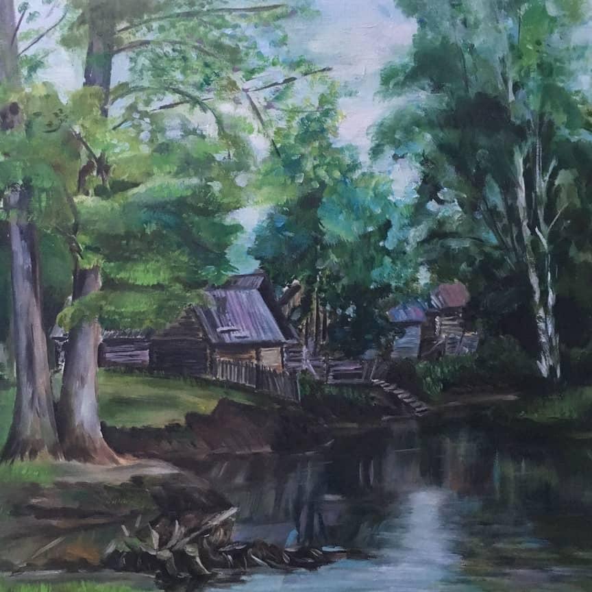 На реке Сим