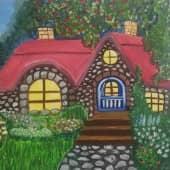 Сказочный домик (1), художник Юлия