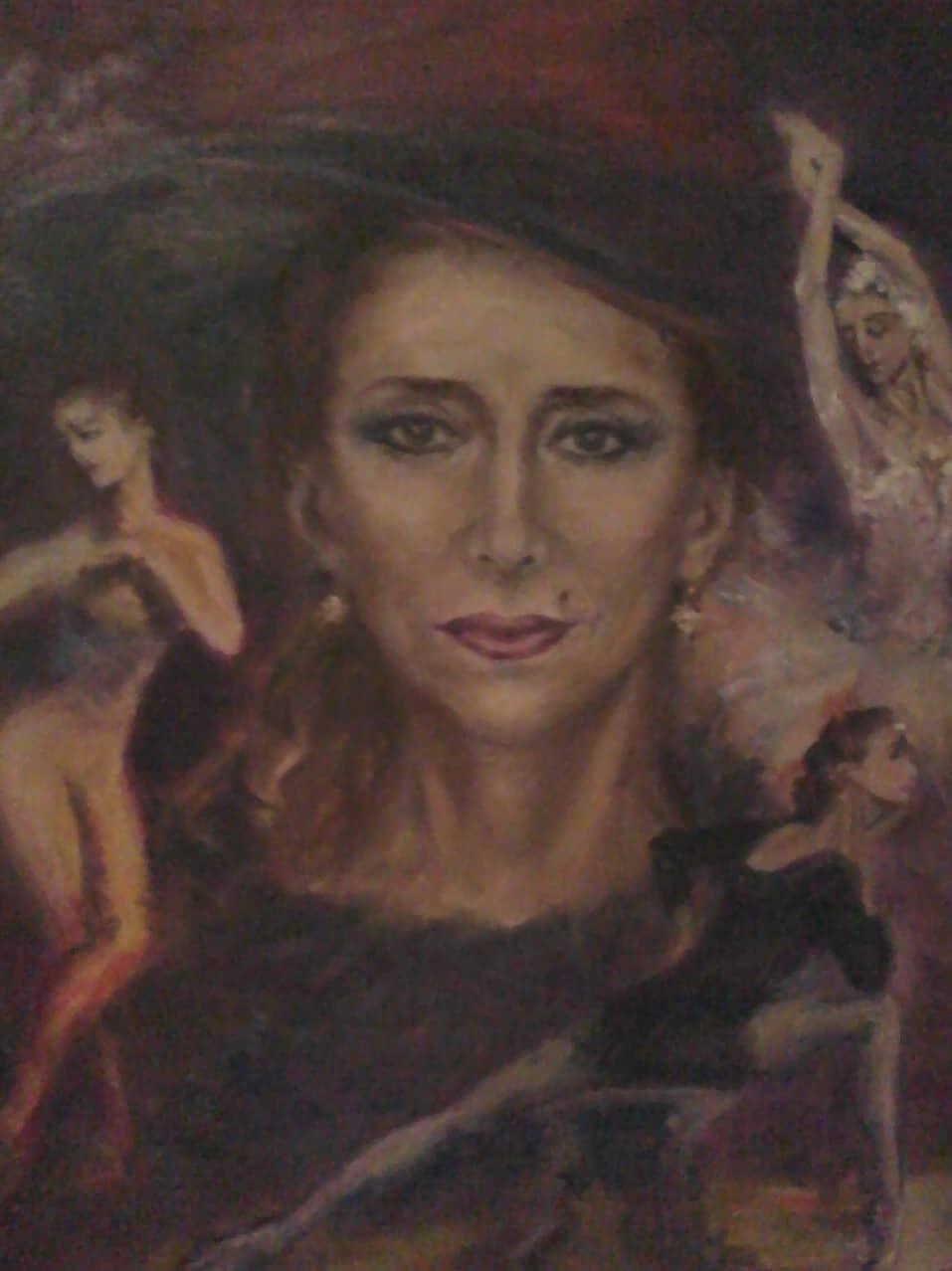 Портрет Майи Плисецкой