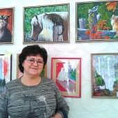 """Картина побывала на выставке под названием -""""Котовасия"""" в ТЦ г.Ахтубинска и заняла призовое место (1), художник Elena Salomatina"""