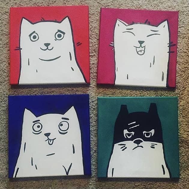 Коты настроения