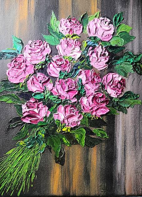 Вкусные розы