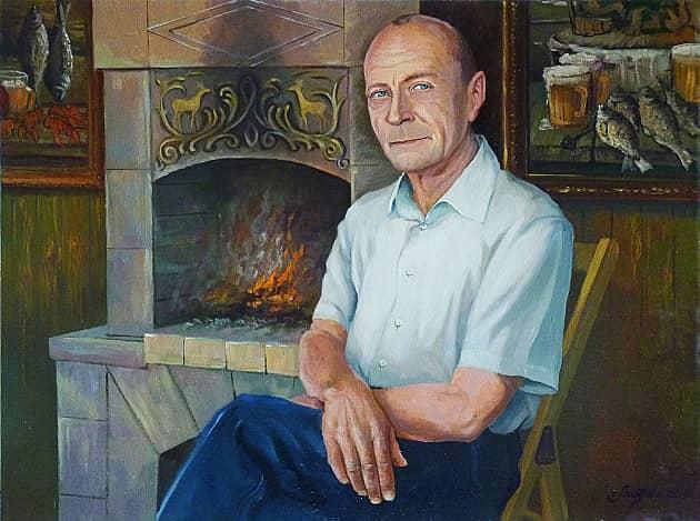 Портрет В. Касинова