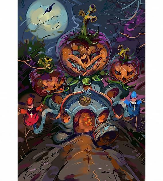 Хелоуин по русски
