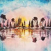 Многоцветный, художник Kerry Moore