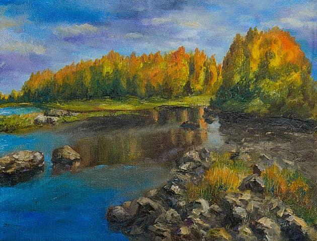 Золотая осень в Финляндии