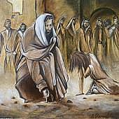 Иисус Христос и Мария, художник Елена