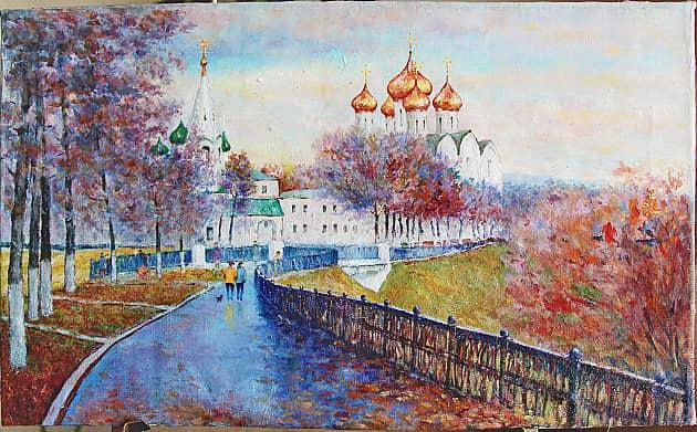 Успенский собор в Ярославле (свободная копия)