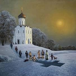 Крещение. Храм Покрова