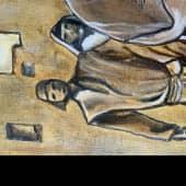 Иисус Христос и Мария (3), художник Елена