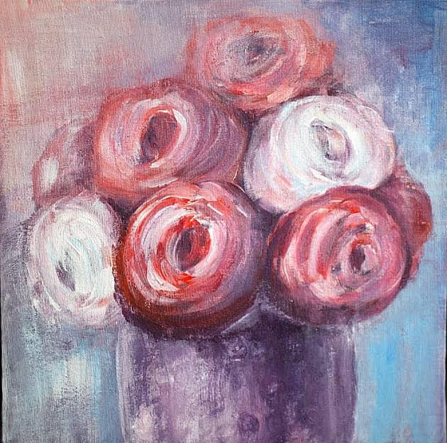 Цветы в вазе (другие)