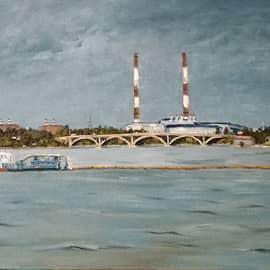 Воронеж Вогрэсовский мост