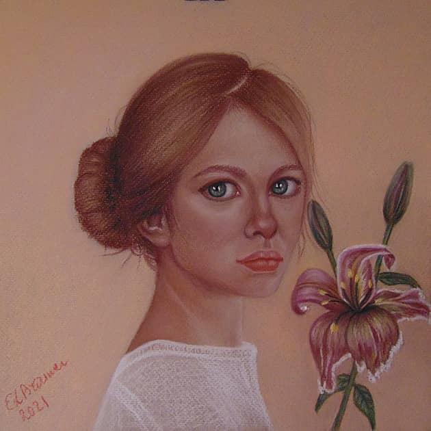 Незнакомка с цветком