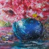 Пушистые цветы (3), художник Kerry Moore