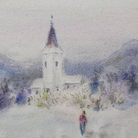 Зимний путь.