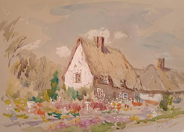 Английский домик.