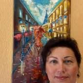 Девочка осень (2), художник Телешко Елена