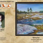 Весенний день (1), художник Ирина Голубина