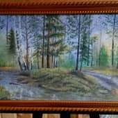 Апрельский лес (1), художник Константин Гуков