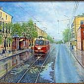 Улица Ленина. Прошлое в настоящем, художник ArtDed